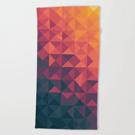 Infinity Twilight Beach Towel