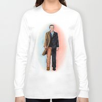 fringe Long Sleeve T-shirts featuring 2 WALTER BISHOP (FRINGE) by Dianah B