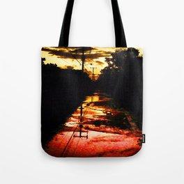 Sherbet Road Tote Bag