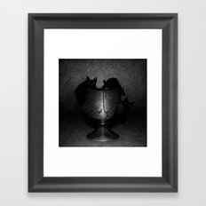 Drawlloween 2016: Bat Framed Art Print