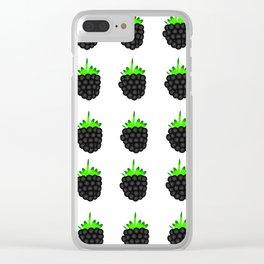 Blackburries Clear iPhone Case