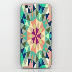 Cool Pink Retro Geometry iPhone & iPod Skin