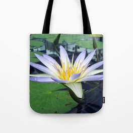 Amazon Waterlily Tote Bag