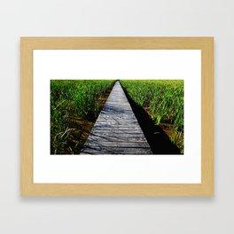 moving forward Framed Art Print