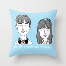 T & S Throw Pillow