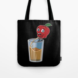 Freshly Squeezed Apple Juice Tote Bag