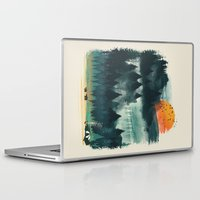 camp Laptop & iPad Skins featuring Wilderness Camp by dan elijah g. fajardo