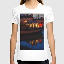 Sunset on the turkish aegean sea T-shirt