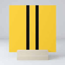 Bruce Bee Bumble Lee Stripes Mini Art Print