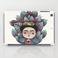 frida iPad Cases featuring frida by yohan sacre
