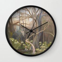 Afternoon at Manatee Springs Wall Clock