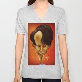 Aung San Suu Kyi Unisex V-Neck