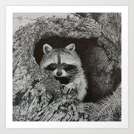 lil bandit Art Print