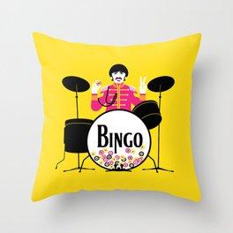 Bingo Starr Throw Pillow