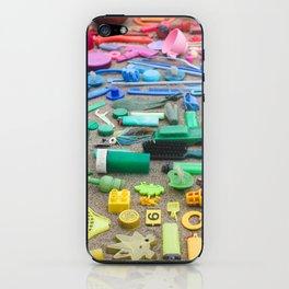Beach Trash iPhone Skin