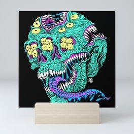 Skull Monster Mini Art Print