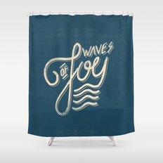 Waves of Joy Shower Curtain