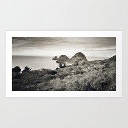 ... L'île du bout du Monde ... Art Print