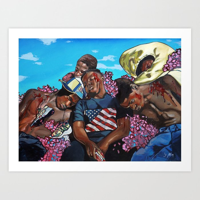 The Kids From The States Art Print
