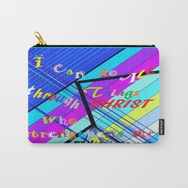 I Can Do ALL Things Through Christ Carry-All Pouch
