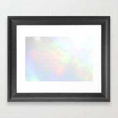 prismatic light Framed Art Print