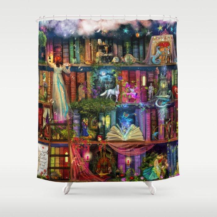 Whimsy Trove - Treasure Hunt Shower Curtain