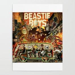 Beastie Invasion Poster