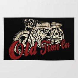 "Old Time Car ""Café Racer"" Rug"