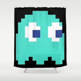 8-Bits & Pieces - Inky Shower Curtain