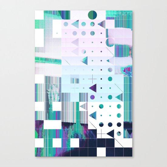 glytchwwt Canvas Print