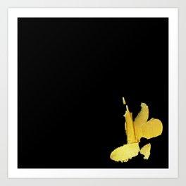 Gold Fool Art Print