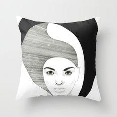 Fashion Illustration 4  Throw Pillow