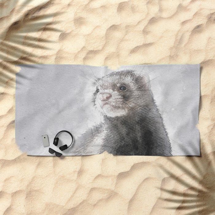 Bride Beach Towel
