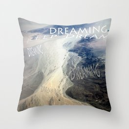 KEEP DREAMING Throw Pillow