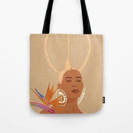 Don't Ever Touch My Hair Tote Bag