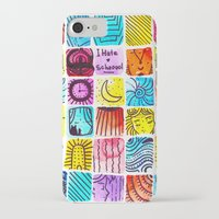 school iPhone & iPod Cases featuring School by Verismaya