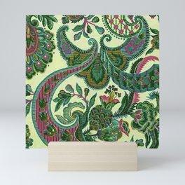 Eleganza Paisley Floral Mini Art Print