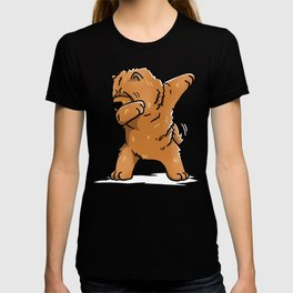 Funny Dabbing Chow Chow Dog Dab Dance T-shirt