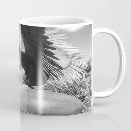 """The """"Wings of the City"""" sculpture exhibit by Mexican Artist Jorge Marín 3 Coffee Mug"""