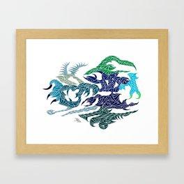 Aquatilium Vision Framed Art Print