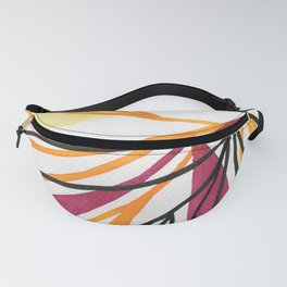 Sun and leaves Fanny Pack