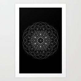 Anael Art Print