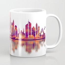 Dubai UAE Skyline Coffee Mug