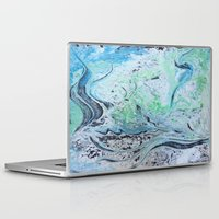 under the sea Laptop & iPad Skins featuring Under Sea by Marnie