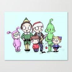 Christmas Boys Canvas Print