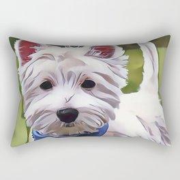 The West Highland Terrier Rectangular Pillow