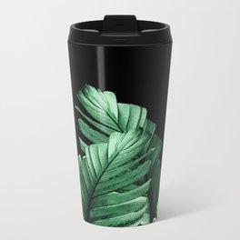 Green Banana Leaves Dream #2 #tropical #decor #art #society6 Metal Travel Mug