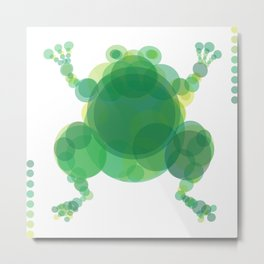 THE OX & THE FROG Metal Print