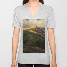Postcards from Scotland Unisex V-Neck