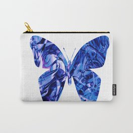 Fluid Butterfly (Blue Version) Carry-All Pouch